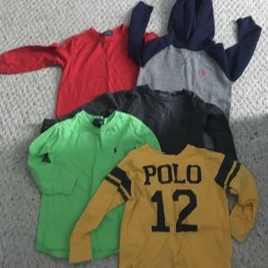Ralph Lauren boys 3t shirts
